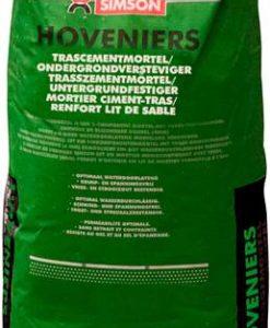 Simson hoveniers trascementmortel/ondergrondversteviger