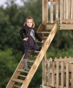Zware trap (platformhoogte: 150cm)