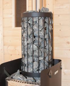 Steenkorf voor Harvia M3 houtkachel