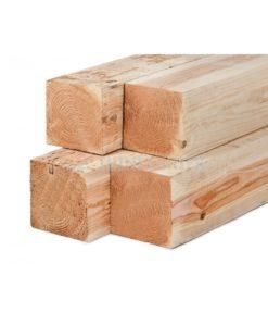 Lariks/douglas palen, houtsoort: ongeschaafd, vers gezaagd, kernvrij, ongedroogd