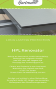 HPL renovator 500 ml with white cloth