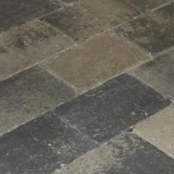MB Drumstone 15x20x6 grijs/zwart genuanceerd