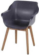 Natural teak frame met xerix seat