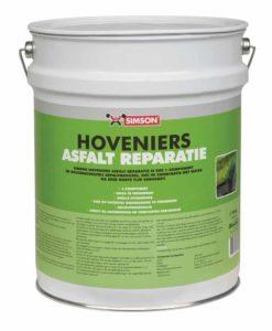 Simson hoveniers asfalt reparatie (reactief) 0-3 10 liter