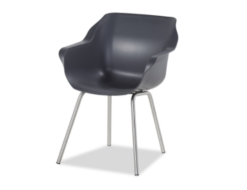 Sophie Element Stainless Steel Armchair