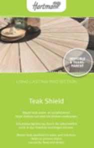 Teak Shield 1 liter voor alle teaks kleuren
