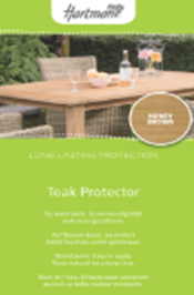 Teak protector for Natural gekleurd 1 Liter