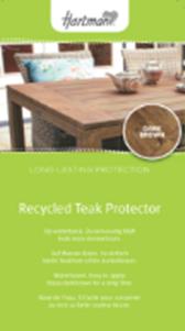 Teak protector for VINTAGE BROWN gekleurd 1 Liter