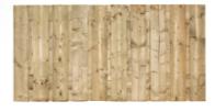 Tuinscherm Dordrecht H90xB180cm