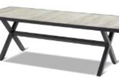 Xerix Canterbury ceramic table 247x96