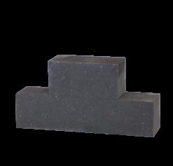 Patio blok strak Antraciet 30x15x15