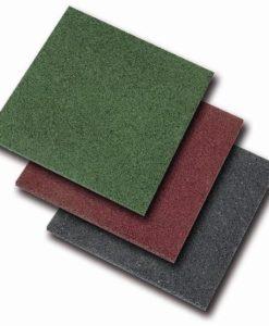 Rubber tegels (Afmeting: 50x50cm)
