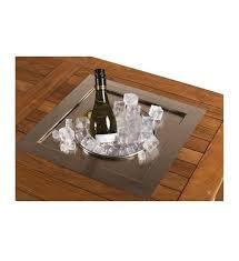 Losse inbouw wijnkoeler rechthoek