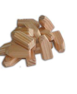 Lariks/douglas houten pennen
