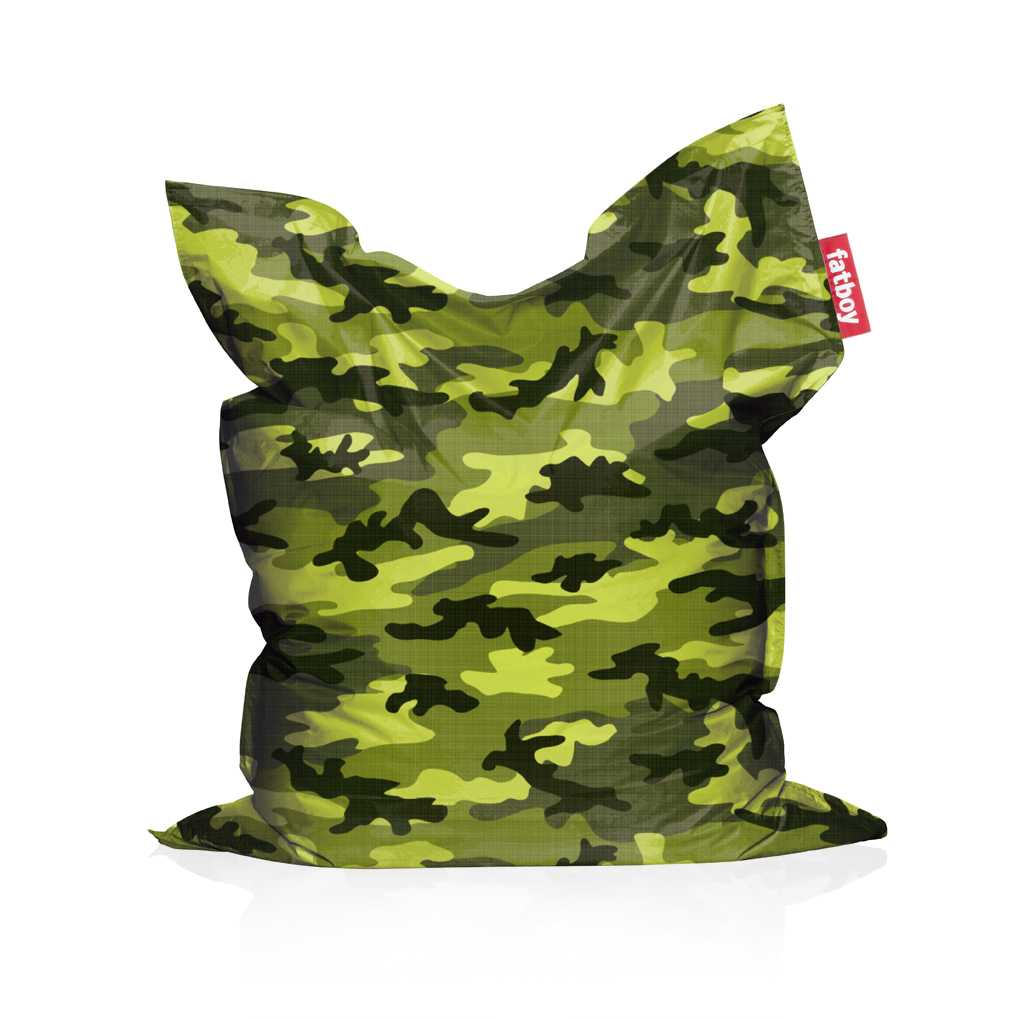 Zitzak Fatboy Camouflage.The Original Camouflage