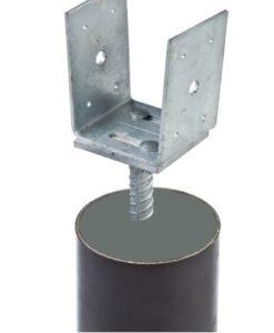 PVC buis voor instortanker Ø12.5xL100cm