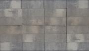 Terratops 30x20x4,7 Grijs/Zwart