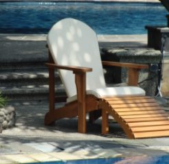 Hardhouten stoel Relax